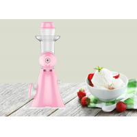 China Lightweight Hand Ice Cream Maker Household Pure Juice Extractor Easy Operate Type on sale