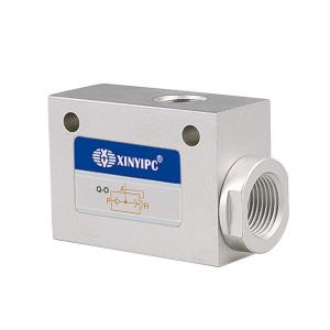 China QE Series Quick Exhaust Valve , G 1 / 8  To G 3 / 4  Automatic Flow Control Valve on sale