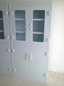 China Custom Hospital Corrosive Medical Storage Cabinet PP Polypropylene , 6 Doors on sale