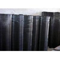 Extruder Iron Fine Black Wire Cloth , Plastic Coated Hardware Cloth