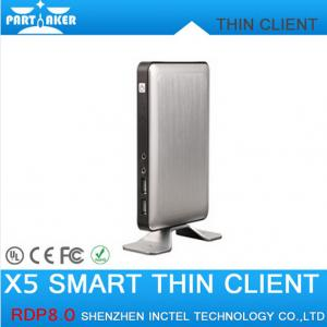 China RDP8 Thin Client X5 for Windows MultiPoint Sever and Windows 8 Fanless Cloud Computer VMware on sale