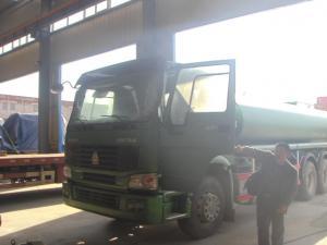 China Internal Anti - Corrosion Liquid Tanker Truck , Construction Water Transport Truck 18-25cbm on sale