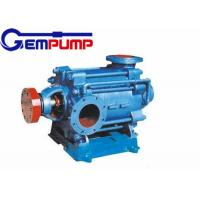 China D 6-25 Multistage Horizontal Centrifugal Pump 3.75~7.5 m3/h Flow on sale