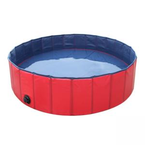 Pvc Portable Pet Bath Tub Inflatable , Dog Bathing Tub for sale ...