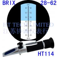 China Brix Refractometer 28-62%for fruit concentrates and condensed milk on sale