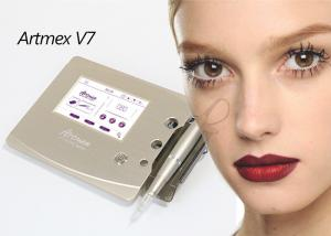 China Artmex V7 Digital Permanent Makeup Tattoo Machine With Eyes Rotary Pen MTS PMU System on sale