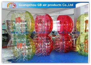 China Custom Amazing Bubble Suit Inflatable Bumper Ball For Sports Entertainment on sale