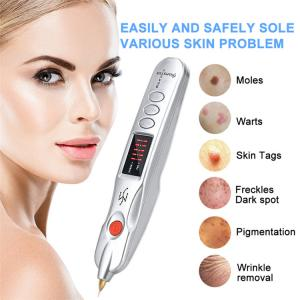 China Electric Plasma Pen Mole Removal Dark Spot Remover LCD Skin Care Point Pen Skin Wart Tag Tattoo Removal Tool Beauty Care on sale