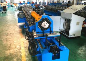 China Top Hat Section Cold Roll Forming Machine , High Speed Automatic Roll Former on sale