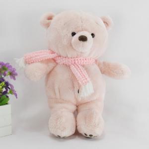 China Birthday gift pink bear plush toy,cute huggable plush bear toy,soft lovely bear toy on sale