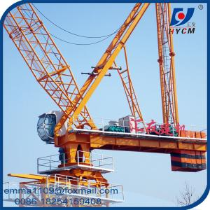 China 16t Building Luffing Tower Crane D6029 Model 60M Large Jib 2.9t End Load on sale