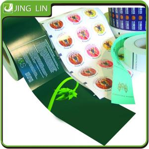 China Wholesale pressure-sensitive adhesive waterproof coated paper sticker on sale