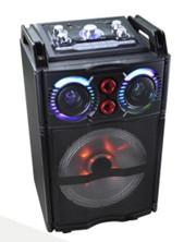 China 10 Inch Rechargeable multifunction Trolley Speaker with BLUTOOTH Function on sale
