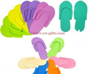 China Disposable Foam Slippers High Quality Foam Pedicure Slippper for Salon Spa Pedicure Flip Flop Tools on sale