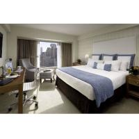 China Deluxe Hotel Room Furnishings ,  King Size Hotel Guest Room Furniture In PU Finish on sale