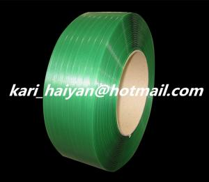 China Green Plastic PP / PET Strapping Belt for Packaging - 1206 on sale