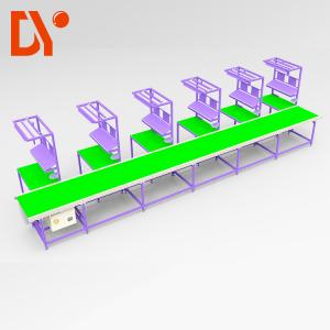 China Automated Assembly Line Workstations High Load Capacity DY157 With Conveyor Belt on sale