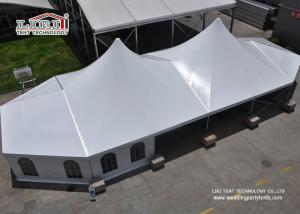 China Outdoor High Peak Tents / Wedding Party Tent With Church Windows on sale