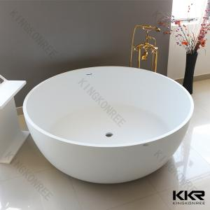 China Hot Selling White Acrylic Solid Surface Bathtub on sale