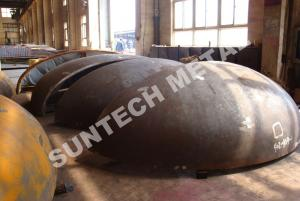 China 2/1 EHA Monel400 Nickel Alloy and Stainless Steel Clad head for Offshore Column on sale