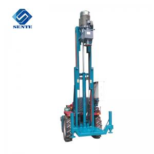 China lowest price trailer type core drilling rig AKL-120T water well drilling machine on sale