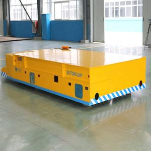 China Heavy industry remote control motorized electric transfer cart on sale
