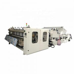 China Professional Toilet Paper Rewinding Machine Toilet Roll Manufacturing Machine on sale