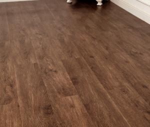 China Glue-free PVC plastic floor rubber wood grain household commercial waterproof wear-resistant 2.0MM self-adhesive sheet on sale