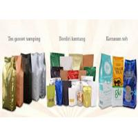 Metalized Zip Lock Flat Bottom Gusset Bags Reclosable For Snack Food Nuts Packing