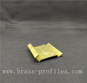 China Brass Alloy Metal Products Industrial Profiles with Customized Sizes on sale