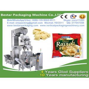 China frozen dumplings packaging machine,frozen dumplings weighting machine with doypack stand up pouch on sale