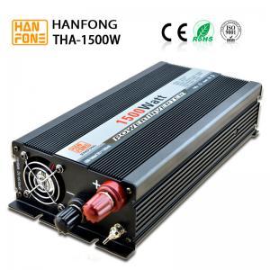 China Solar inverter Advance quotation and High Performance 1500W 21V Sharp Monocrys talline Solar Panels Black on sale