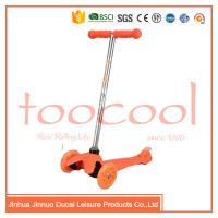 CE ASTM chinese factory colorfuly 3 wheel oem kids popular plastic kick scooter