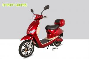 China 25-32km/h Canada moped power assisted electric scooter/bicycle with 500W 48V battery on sale