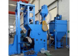 China 300L 11kw Tumble Shot Blasting Machine Blast Wheel Automatic Loading System on sale