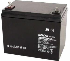 China Batería profunda del gel del ciclo de UPS 75ah12v recargable con capacidad grande on sale