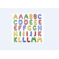 China Colored Custom Puffy Alphabet Stickers For Baby Room Wall Decor Eco Friendly on sale