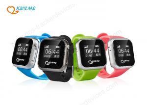 China SOS que llama a niños dispositivo del perseguidor de WIFI GPS con la pantalla táctil de OLED/la prenda impermeable nana on sale