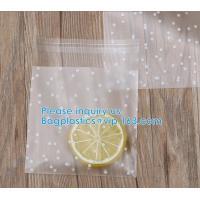 Cookies/Cake/Bread With Tear Notch,Matt OPP Plastic Food Grade Bakery Packaging Bag,Matte Bakery Packaging Bags Cookies,