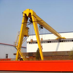 China 4 Meters Semi Gantry Crane / Portable Movable Mobile Half Gantry Crane on sale