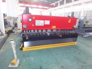 China Electric Guillotine Shear Hydraulic Metal Sheet Cutting MachineFor Carbon Steel on sale