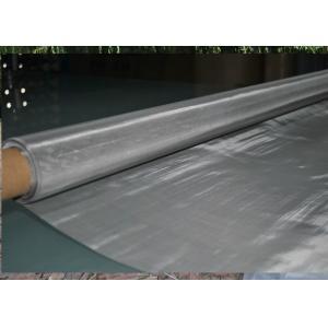 1m / résistance à l'usure tissée par largeur de tissu de maille d'acier inoxydable de 1.22m pour le filtrage de nourriture