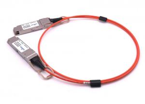 China 40gbase Aoc Qsfp+ Direct Attach Cable 3 Meter / 40g Aoc Active Optical Cable Om3 Fiber on sale
