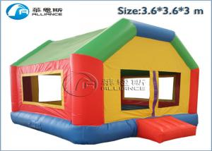 China easy storage lovely house family indoor inflatable bouncy castle on sale