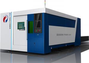 China High Reliable 12000W Fiber Laser Cutting Machine / Fiber Optic Laser Cutter on sale