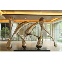 China Modern Garden Ornaments Statues , Metal Art Stainless Steel Garden Sculptures on sale