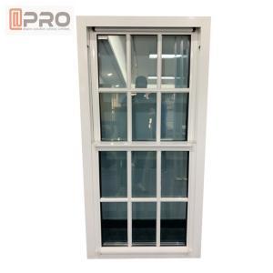 China Customized Soundproof Single Hung Window  / Villa Double Glazed Top Hung Window on sale