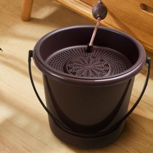 China Portable Polypropylene 34.5x32cm Waste Water Bucket on sale