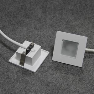 China square 1w 4000k/5000k wall recessed LED spotlight with 38*38mm cutout on sale