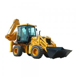 China Katop XD860 Backhoe Loader 7.5 ton on sale